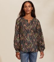 Anna Printed Blouse