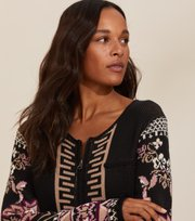 Odd Molly - Florence cardigan - ALMOST BLACK