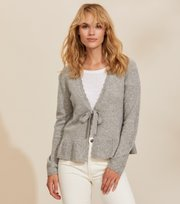 Odd Molly - Quinn Cardigan - GREY MELANGE