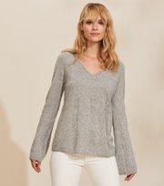 Odd Molly - Quinn Sweater - GREY MELANGE