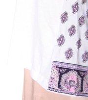 Odd Molly - fling long t-shirt - WHITE