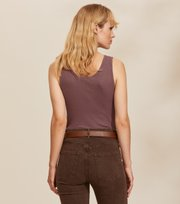 Odd Molly - Emma Tank Top - MISTY GRAPE