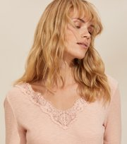 Odd Molly - Emma L/S Top - SMOKE ROSE