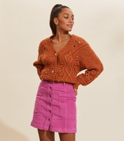 Odd Molly - Maya Skirt - PINK DAHLIA