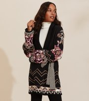 Odd Molly - Florence Long Cardigan - ALMOST BLACK