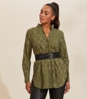 Odd Molly - Vivian Shirt - DARK OLIVE