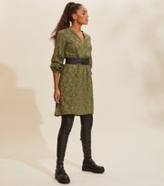 Odd Molly - Esther Dress - DARK OLIVE