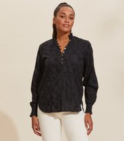 Odd Molly  - Esther Blouse - ALMOST BLACK