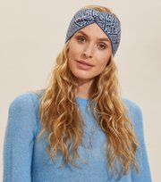 Odd Molly  - Luna Headband - SLICE OF BLUE