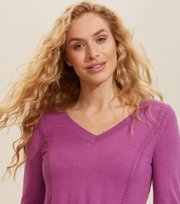 Odd Molly - Aurora Sweater - SMOKEY PURPLE