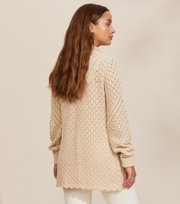 Odd Molly - Skylar Cardigan - LIGHT PORCELAIN