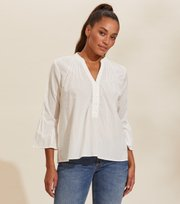 Odd Molly - Nadine Blouse - LIGHT CHALK