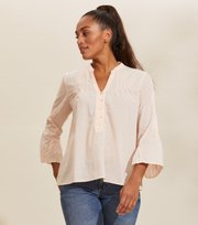 Odd Molly - Nadine Blouse - PEACH POWDER