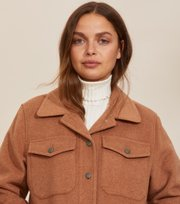 Odd Molly - Stella Shirt Jacket - BROWN MOCHA