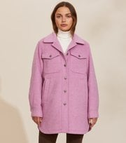 Odd Molly - Stella Shirt Jacket - SMOKEY PURPLE