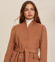Odd Molly - Luna Coat - BROWN MOCHA