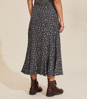 Odd Molly - Esmée Skirt - ASPHALT