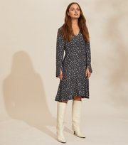 Odd Molly - Esmée Dress - ASPHALT
