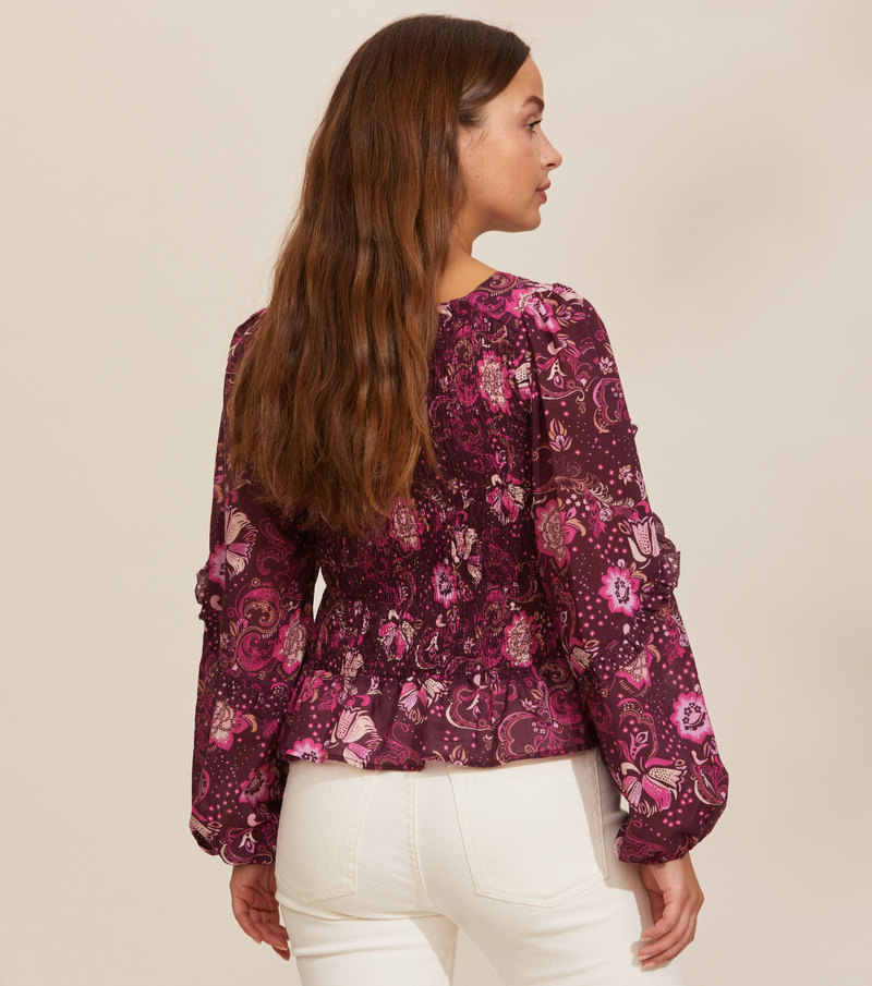 Doreen Smock Blouse