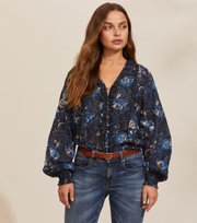 Odd Molly - Doreen Blouse - DARK BLUE