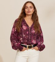 Odd Molly - Doreen Bluse - DARK PURPLE