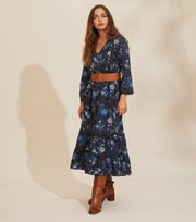 Odd Molly - Doreen Dress - DARK BLUE