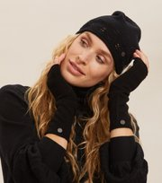 Odd Molly - Simone Beanie - ALMOST BLACK