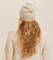 Odd Molly  - Simone Beanie - LIGHT PORCELAIN