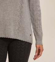 Odd Molly  - Simone Sweater - GREY MELANGE