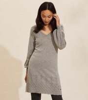 Odd Molly - Simone Kleid - GREY MELANGE
