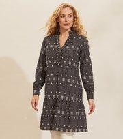 Odd Molly - Célia Dress - ASPHALT