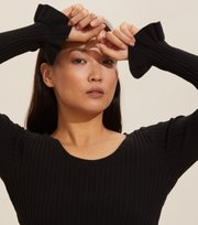 Odd Molly - Liza L/S Top - ALMOST BLACK