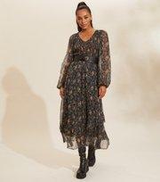 Odd Molly - Claudette Dress - DEEP ASPHALT