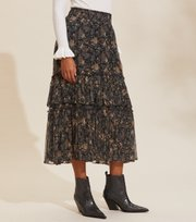 Odd Molly - Claudette Skirt - DEEP ASPHALT