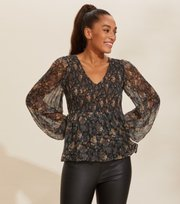 Odd Molly - Claudette Blouse - DEEP ASPHALT