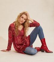 Odd Molly - Amélie Dress - RED ELDERBERRY