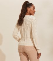 Odd Molly - Selma Cardigan - WHITE CREAM
