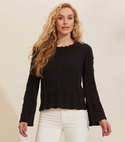 Odd Molly - Selma Sweater - ALMOST BLACK
