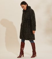Odd Molly - Amandine Long Jacket - GREEN ASPHALT