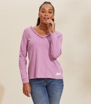 Odd Molly - Leonore Top - SMOKEY PURPLE