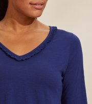 Odd Molly - Leonore Top - SLICE OF BLUE