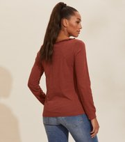 Odd Molly - Leonore Top - ROST BROWN