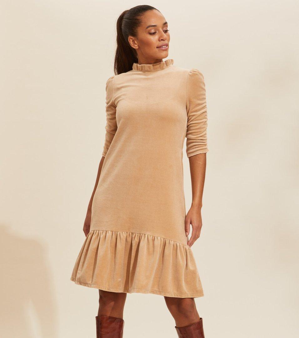 odd molly velour dress