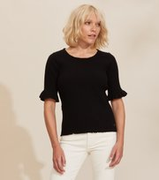 Odd Molly - Liza Top - ALMOST BLACK