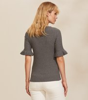 Odd Molly - Liza Top - GREY MELANGE