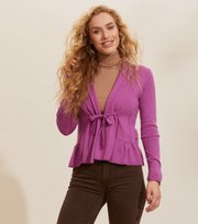 Odd Molly - Aurora Cardigan - SMOKEY PURPLE
