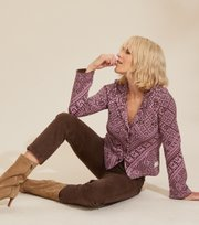Odd Molly  - Estelle Cardigan - SMOKEY PURPLE