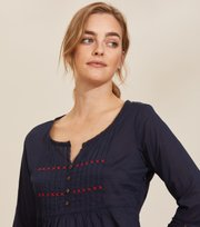 Odd Molly - Alma Blouse - DEEP NAVY