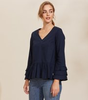 Odd Molly - Doris Top - DEEP NAVY