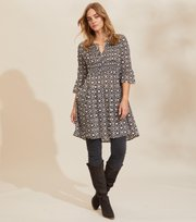 Odd Molly - Josephine Dress - ASPHALT